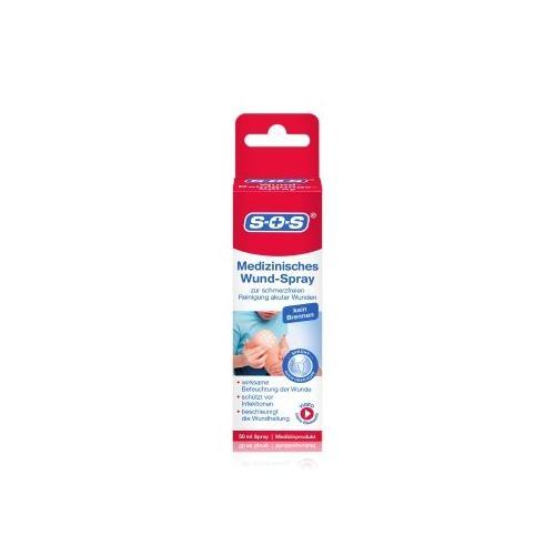 SOS Medizinisches Wund-Spray Körperspray 50 ml