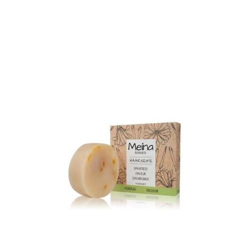 Meina Haarseife Zitronengras und Ringelblume Festes Shampoo 80 g