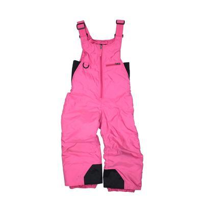 Rawik Snow Pants With Bib: Pink Sporting & Activewear - Size 5