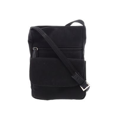 Hobo Bag International Crossbody Bag: Black Solid Bags