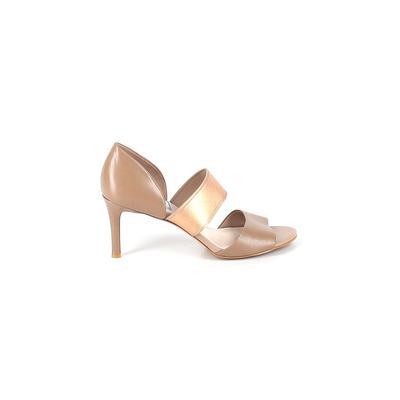 Cole Haan Heels: Tan Solid Shoes...
