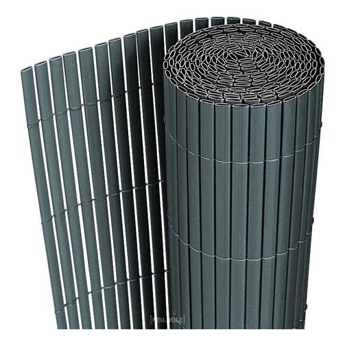 Sichtschutzmatte 150x300 cm PVC Grau