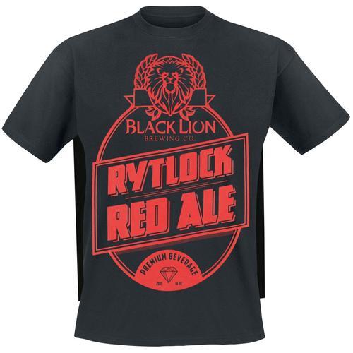 Guild Wars 2 - Rytlock Red Ale Herren-T-Shirt - schwarz - Offizieller & Lizenzierter Fanartikel