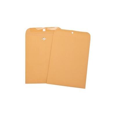 """Business Source Heavy-duty Clasp Envelopes - Clasp - 8 3/4"""" Width x 11 1/2"""" Length - 28 lb - Clasp - Kraft - Brown Kraft - BSN36674"""