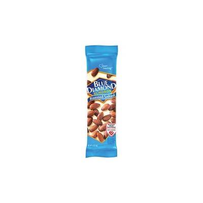 BlueDiamond Roasted Salted Almonds - Roasted & Salted - 1.50 oz - 12 / Box - BLE5180