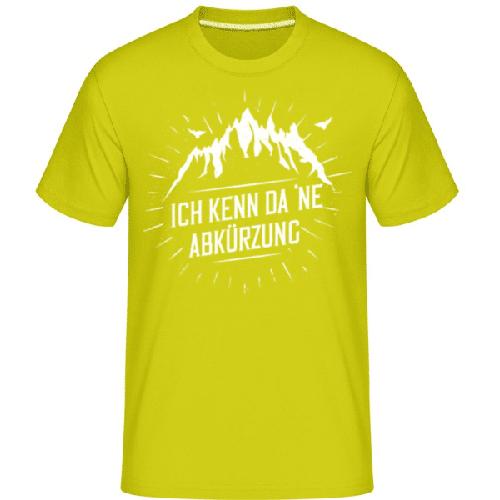 Ich Kenn Da Ne Abkürzung - Shirtinator Männer T-Shirt