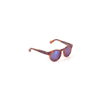 Westward\Leaning Sunglasses: Brown Solid Accessories
