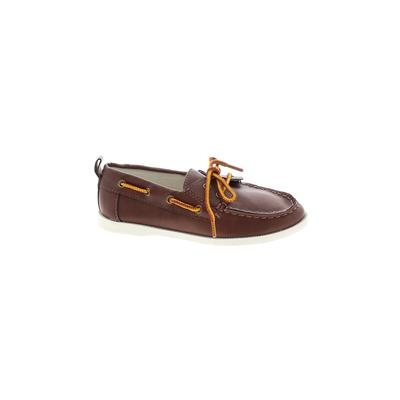 Gap Kids Dress Shoes: Brown Solid Shoes - Size 12