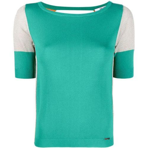 Liu Jo T-Shirt mit Kontrasteinsatz