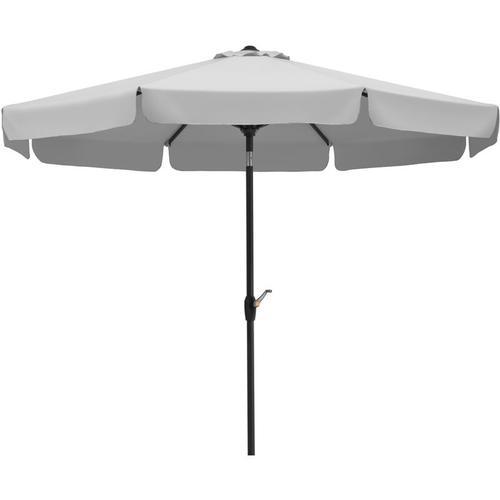 Schneider Sonnenschirm 'Orlando', Ø 270 cm silbergrau