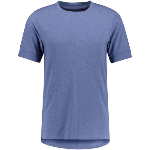 NIKE Herren Yoga T-Shirt Nike Yoga Dri-Fit, Größe XL in Blau