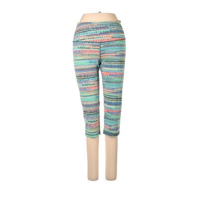 VSX Sport Active Pants - Mid/Reg Rise: Blue Activewear - Size Small