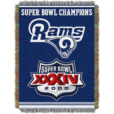 Men's Big & Tall Rams Commemorative Series Throw by NFL in Multi