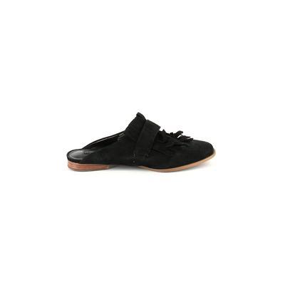 Steven by Steve Madden Mule/Clog: Black Solid Shoes - Size 8 1/2