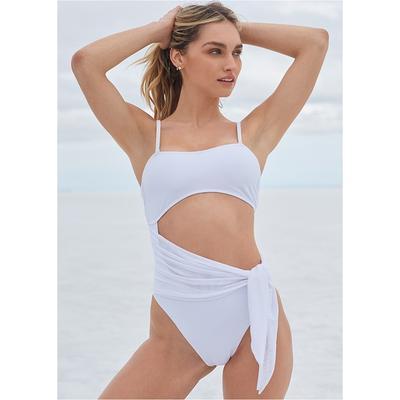 Sports Illustrated Swim™ Sash Monokini Sports Illustrated Swim ™ - White
