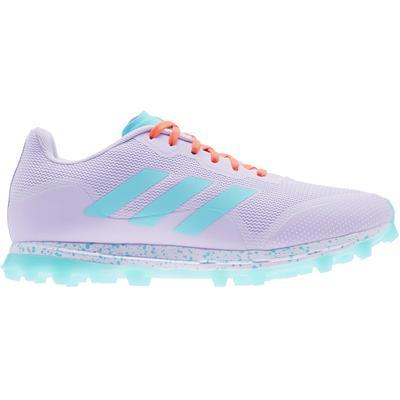adidas Fabela Zone 2.1 Women's Field Hockey Shoes Purple/Aqua