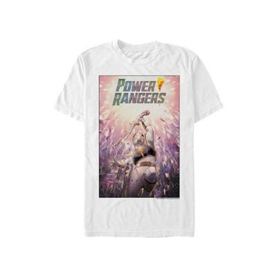 Power Rangers White White Ranger Graphic T-Shirt