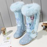 Bottes de la princesse Elsa pour...