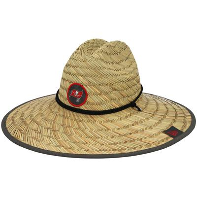 Men's Tampa Bay Buccaneers New Era Natural 2021 NFL Training Camp Official Straw Lifeguard Hat