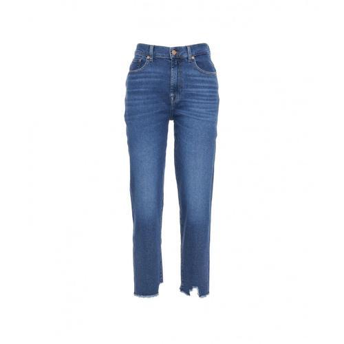 7 for all mankind Damen Jeans Malia Blau