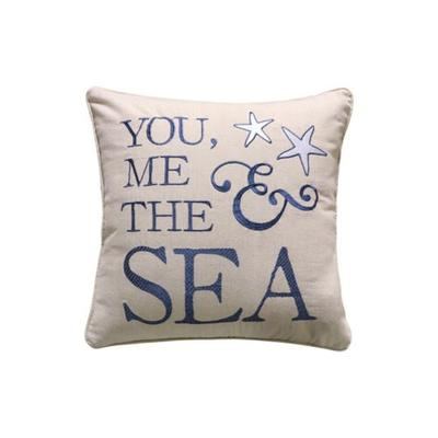 Levtex Home Blue Blue Bay You, Me & The Sea Pillow