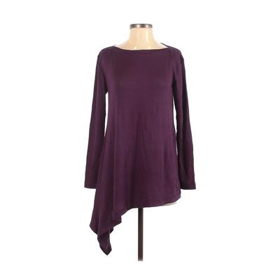 Agnes & Dora Long Sleeve Top Purple Solid Tops – Used – Size Small