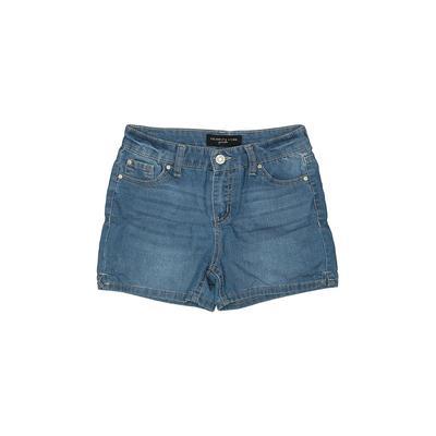 Celebrity Pink girls Denim Shorts: Blue Solid Bottoms - Size 12
