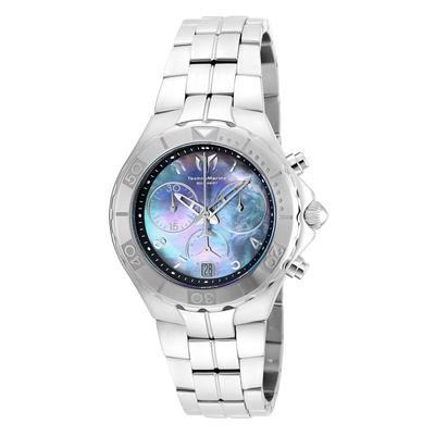 TechnoMarine Sea Pearl 40.1mm watch with Black dial 5040.D Quartz - Model 715013