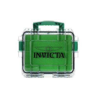 Invicta 3 Slot Impact Case - Model DC3PCGRN