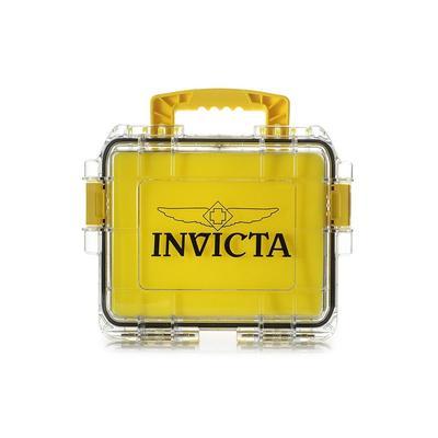 Invicta 3 Slot Impact Case - Model DC3PCYEL