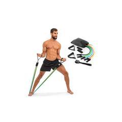 Set comprenant 5 élastiques de fitness : x1