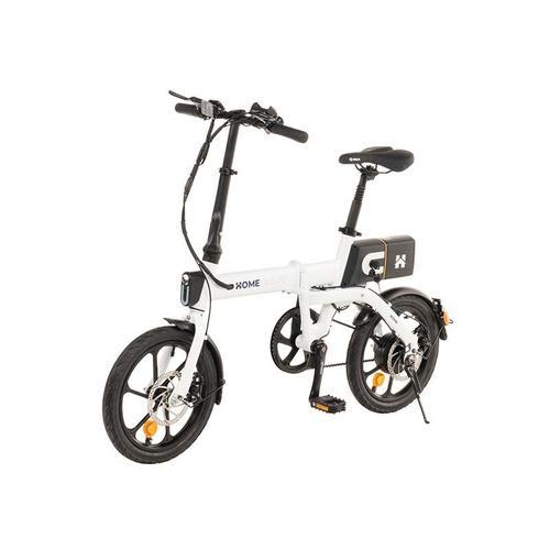 Klapprad E-Bike Optimus I Ebike, Fahrrad, Elektrofahrrad I weiß - Home Deluxe