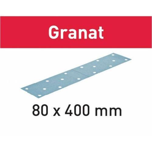 Schleifstreifen STF 80x400 P280 GR/50 Granat ? 497203 - Festool