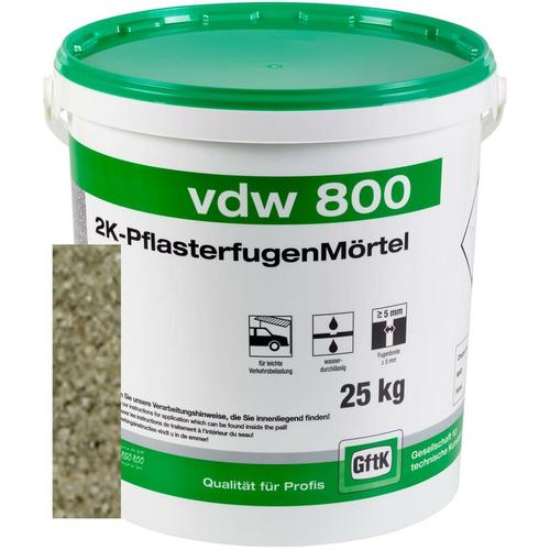 vdw 800 Pflasterfugenmörtel natur 25kg