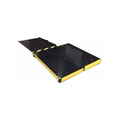 B. Anti-Rutsch Rollstuhlrampe Plattform-Set BEKA 18-25cm zu überwinden
