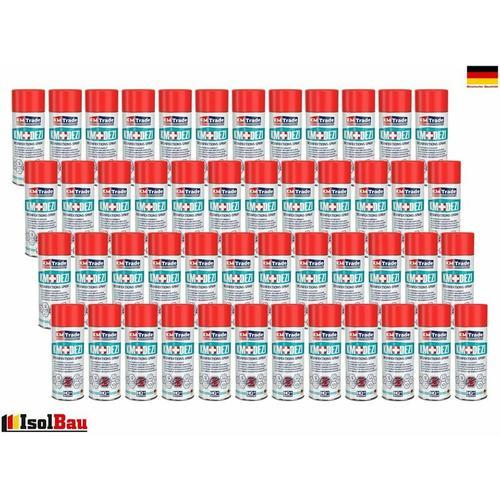 Kmtrade - Desinfektionsmittel KM-DEZI 48 x 400ml Spray Hautdesinfektion Handdesinfektion