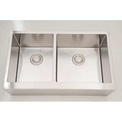 32-in. W CSA Approved Stainless Steel Kitchen Sink With Stainless Steel Finish And 16 Gauge - American Imagination AI-27471