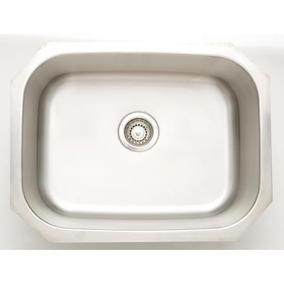 23.25-in. W CSA Approved Stainless Steel Kitchen Sink With Stainless Steel Finish And 18 Gauge - American Imagination AI-27643