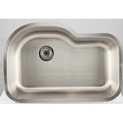 31.125-in. W CSA Approved Stainless Steel Kitchen Sink With Stainless Steel Finish And 18 Gauge - American Imanginations AI-27716