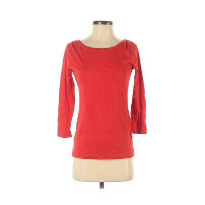 J.Crew 3/4 Sleeve T-Shirt: Red S...