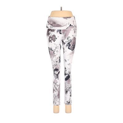 Assorted Brands Leggings: White Print Bottoms – Size Medium