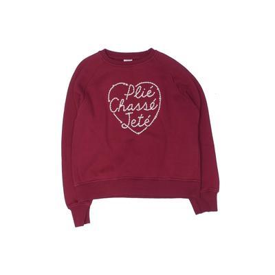 Zara Kids - Zara Kids Sweatshirt: Burgundy Solid Tops - Size 150