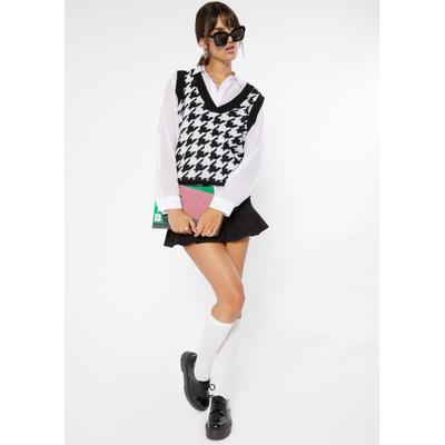 Rue21 Womens Black Ruffle Pleated Hem Jean Mini Skirt - Size L