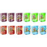 12 40g Cans Pringles Crisps: Sou...