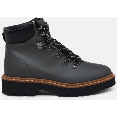 Customer Favorite Hiking Boot H543 In Pelle Gommata Verde - Black ...