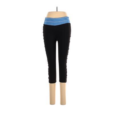 VSX Sport Active Pants - Mid/Reg Rise: Black Activewear - Size Small