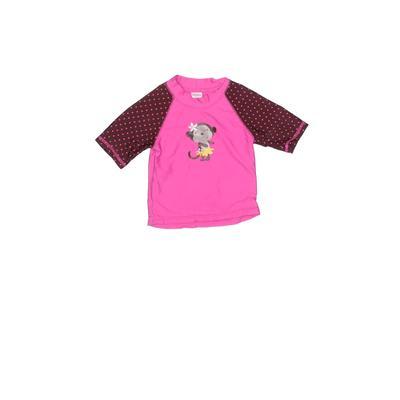 Carter's Rash Guard: Pink Sporting & Activewear – Size 2Toddler