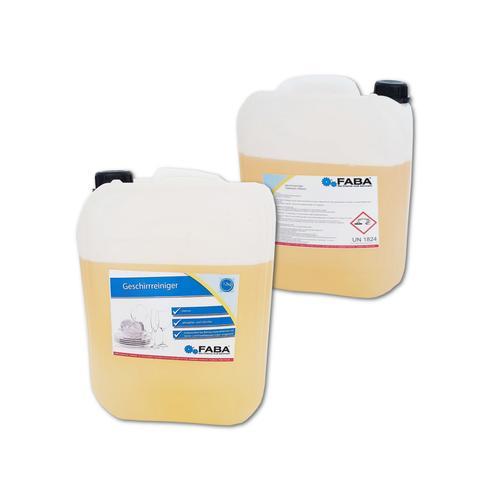 Geschirr-Reiniger, Spülmaschinenreiniger flüssig, 24 kg