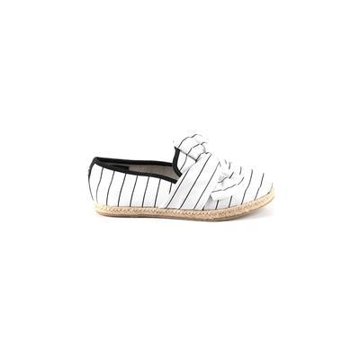 Nautica Flats: White Shoes - Size 6