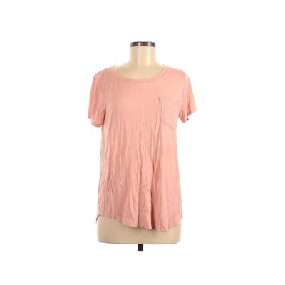 Hollister Short Sleeve Top Pink ...